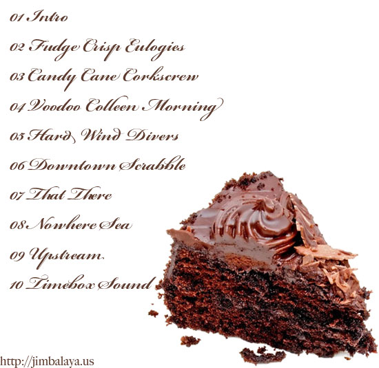 Chocolate Cake Back Cover